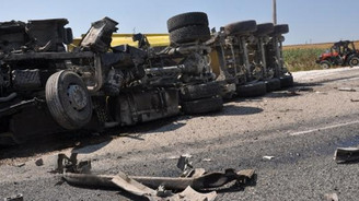Tekirdağ'da kaza: 2 ölü, 2 yaralı