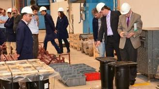 Sivas'ta üretilen konteyner taşıma vagonuna Avrupa vizesi