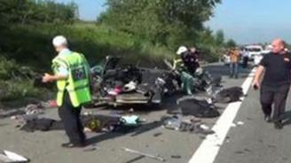 Sakarya'da kaza: 3 ölü, 3 yaralı