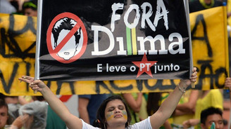 Brezilyalılar Rousseff'i istemiyor