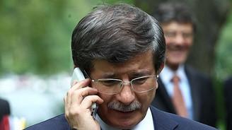 Davutoğlu'ndan liderlere telefon