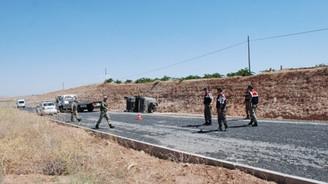 Mardin'de mayınlı saldırı: 1 şehit, 4 yaralı