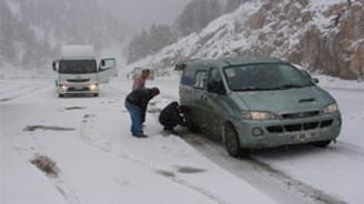Doğu Anadolu'da etkili kar var