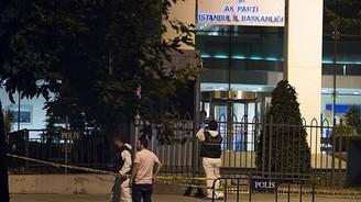 AK Parti İl Başkanlığı binasına ateş açıldı
