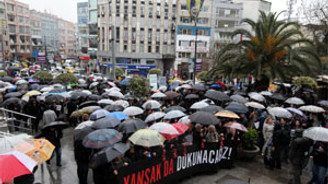 Gazeteciler, Şık ve Şener'e Kadıköy'den destek verdi