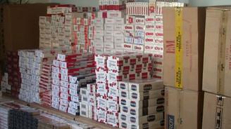 290 bin paket sigara ele geçirildi