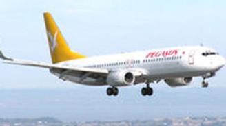 Pegasus, Zürih ve Basel'e 111 euroya uçuracak