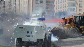 YSK protestolarında kan döküldü