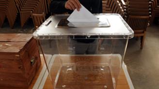 Atatürk Havalimanı'nda oy verme işlemi başladı