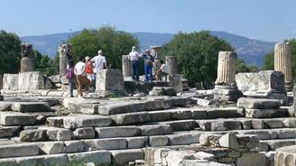 Roma dönemine ait tuvaletler bulundu