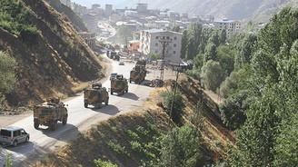 """Hakkari'de bazı alanlar """"özel güvenlik bölgesi"""" ilan edildi"""