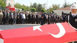 Şehit polis Güneş son yolculuğuna uğurlandı