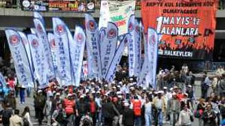 Ankara'daki mitingde arbede çıktı