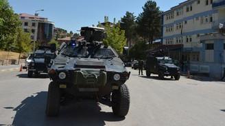 Tunceli'de jandarma karakoluna taciz ateşi