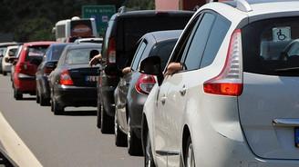 Tatilcilere dönüş trafiği uyarısı