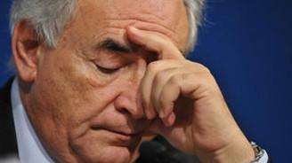 Strauss-Kahn, IMF'ye veda etti