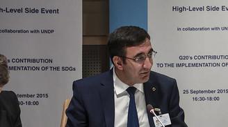 Türkiye BM'de G20'nin önceliklerini anlattı