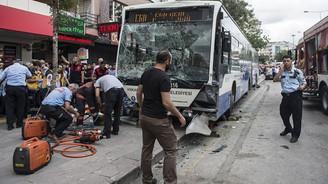 Ankara'da otobüs durağa daldı: 12 ölü
