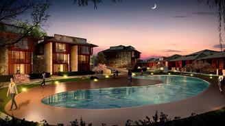 250 milyon dolarlık projede villa sayısı azaldı, konaklar arttı