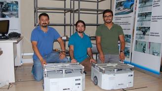Geliştirdiği mayın tespit robotu için destek bekliyor