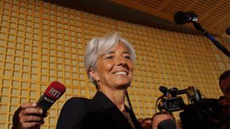 Lagarde, seçim çalışmalarına başladı
