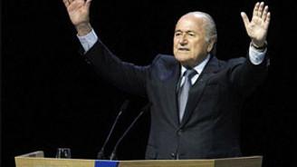 Blatter yeniden başkan