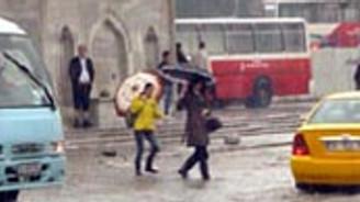 İstanbul'a dolu yağacak