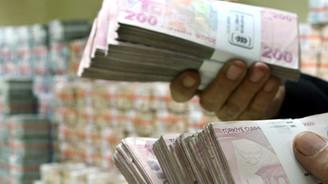 Kredi hacmi 3.4 milyar lira arttı