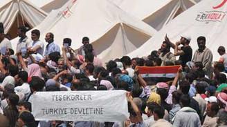 Suriyeli mültecilerin sayısı 10 bini aştı