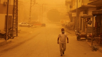 Gaziantep'i toz bulutu sardı