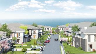 Bahçeli evleri denizle buluşturdu projenin yüzde 30'unu tanıtımsız sattı