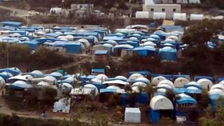 Türkmenler için sınırda sahra hastanesi kuruldu