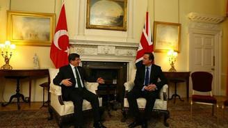 Başbakan Davutoğlu Cameron ile görüştü