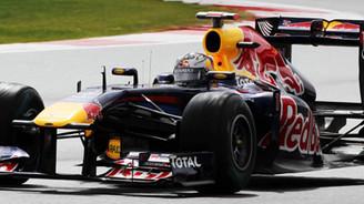 Alman pilot Vettel yine kazandı