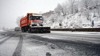TEM Ankara yönü ulaşıma kapandı