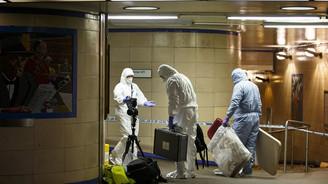 Londra metrosunda bıçaklı saldırı
