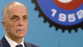 Türk-İş'te başkan değişmedi