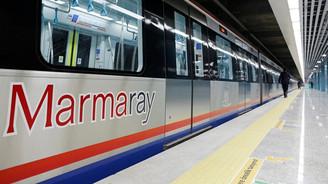 Marmaray'dan 61 milyon yolcu geçti