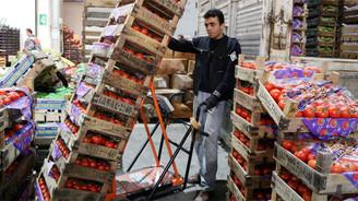 Sebze ve meyve fiyatları aralıkta arttı