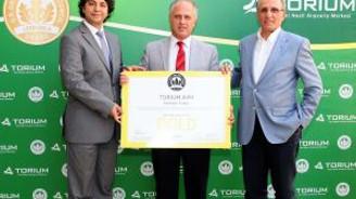 Torium, LEED sertifikasını aldı