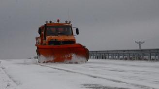 Kayseri- Malatya Karayolu kardan kapandı