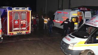 Çankırı'da 100 işçi hastaneye kaldırıldı