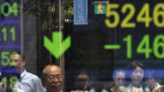 Asya borsaları değer kaybetti