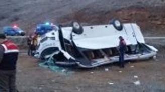 Şanlıurfa'da otobüs kazası