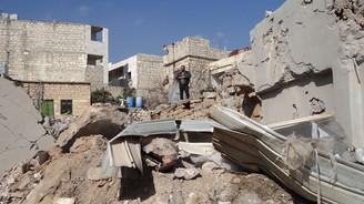 Rus uçakları Halep'e saldırdı: 10 sivil öldü