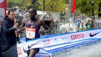 Avrasya Maratonu'nda zafer Kiplagat'ın