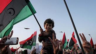 Libya'da özgürlük sevinci