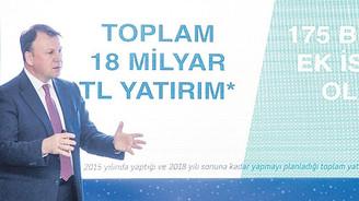 Turkcell'den 2018'e kadar 18 milyar liralık yatırım