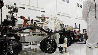 Curiosity, yarın Mars'a gidiyor