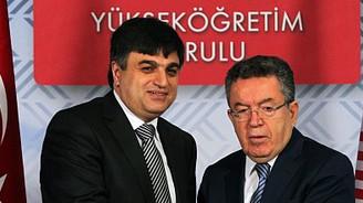 Çetinsaya görevi Özcan'dan devraldı